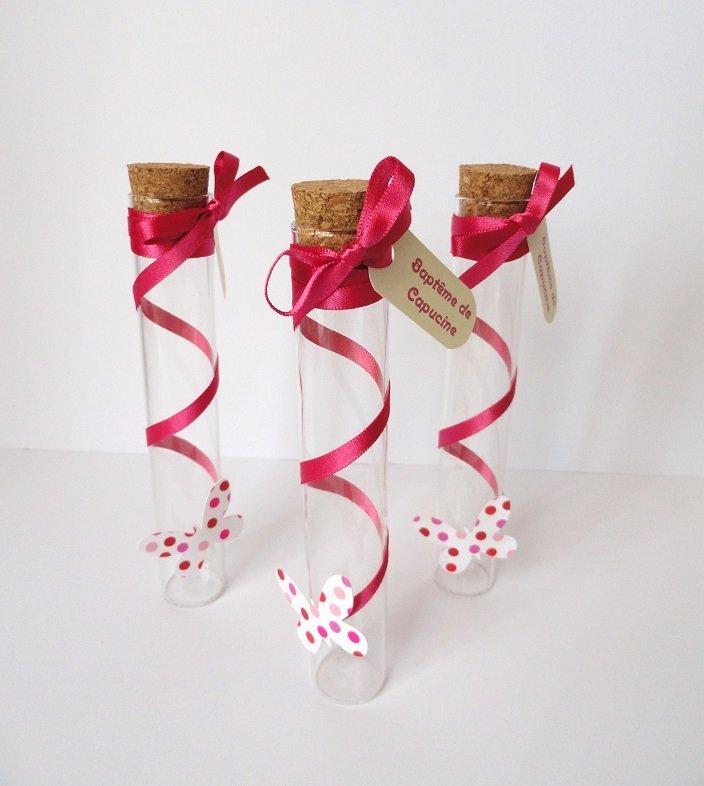 decoration fait main pour bapteme le baptme de capucine des fleurs et papillons - Decoration Tube A Essai Mariage